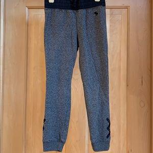 Abercrombie kids fleece pants.  Girls size 7/8